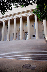 19 June 2013. University of Alabama, Tuscaloosa, Alabama.<br /> The Amelia Gayle Goras Library on the grounds of the University of Alabama.<br /> Photo; Charlie Varley