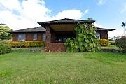 Stone plantation managers house, Kalaheo, Kauai, Hawaii