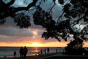 Sunset Over Laguna Beach, California.