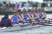 Henley, Great Britain, 2001 Henley Royal Regatta. <br /> <br /> Tel 44 (0) 7973 819 551<br /> <br /> Photo Peter Spurrier<br /> Henley Royal Regatta Fri. 6th July<br /> <br /> GBR Women's eight move of the start in the first round of the Henley prize. 20010604 Henley Royal Regatta, Henley, Great Britain.