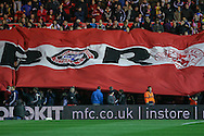 Middlesbrough  flag during the Capital One Cup match between Middlesbrough and Everton at the Riverside Stadium, Middlesbrough, England on 1 December 2015. Photo by Simon Davies.