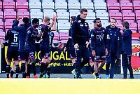Fotball , 3. juni   2017 , Eliteserien<br />  Tromsø - Vålerenga 2-4<br />  , Vålerenga jubler for seier her ved blant annet: <br /> Ronny Delia , VIF