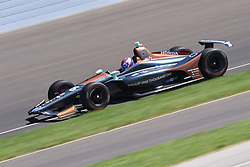 April 30, 2018 - Indianapolis, IN, U.S. - INDIANAPOLIS, IN - APRIL 30: Zach Veach (26) during an Open Test on April 30, 2018, at the Indianapolis Motor Speedway in Indianapolis, IN. (Photo by James Black/Icon Sportswire) (Credit Image: © James Black/Icon SMI via ZUMA Press)