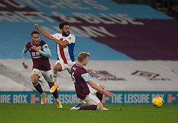 Andros Townsend of Crystal Palace (C) in action - Mandatory by-line: Jack Phillips/JMP - 23/11/2020 - FOOTBALL - Turf Moor - Burnley, England - Burnley v Crystal Palace - English Premier League