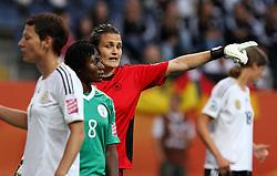 30.06.2011, Commerzbank Arena, Frankfurt, GER, FIFA Women Worldcup 2011, Gruppe A, Deutschland (GER) vs. Nigeria (NGA), im Bild .Torhüterin Nadine Angerer (GER) .// during the FIFA Women Worldcup 2011, Pool A, Germany vs Nigeria on 2011/06/30, Commerzbank Arena, Frankfurt, Germany.  EXPA Pictures © 2011, PhotoCredit: EXPA/ nph/  Karina Hessland       ****** out of GER / CRO  / BEL ******