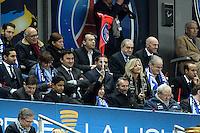 NASSER AL KHELAIFI /  ANNE HIDALGO    - 11.04.2015 -  Bastia / PSG - Finale de la Coupe de la Ligue 2015<br />Photo : Visual / Icon Sport