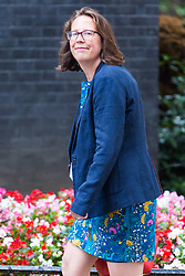 London, July 18th 2017. Lord Privy Seal and Leader of the House of Lords Baroness Natalie Evans attends the last cabinet meeting before the Parliamentary summer recess at Downing Street in London.