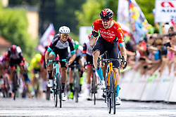 Phil BAUHAUS of BAHRAIN VICTORIOUS celebrates during the 5th Stage of 27th Tour of Slovenia 2021 cycling race between Ljubljana and Novo mesto (175,3 km), on June 13, 2021 in Slovenia. Photo by Matic Klansek Velej / Sportida