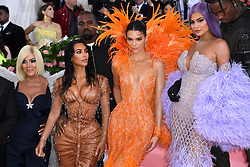 "Kris Jenner, Kim Kardashian West, Kendall Jenner and Kylie Jenner at the 2019 Costume Institute Benefit Gala celebrating the opening of ""Camp: Notes on Fashion"".<br />