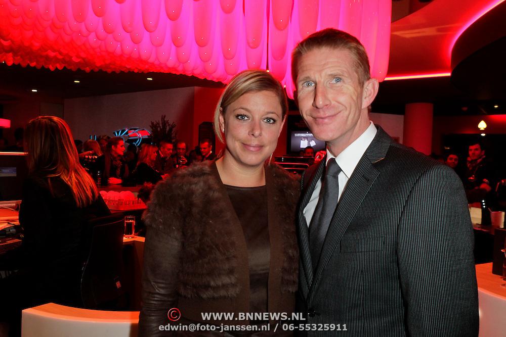 NLD/Schveningen/20120307 - Heropening Holland Casino Scheveningen, Jack de Vries en partner Melissa Goede