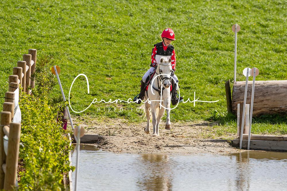 Goeminne Marie-Joëlle, BEL, Jones<br /> Nationale finale AVEVE Eventing Cup voor Pony's - Maarkedal 2019<br /> © Hippo Foto - Dirk Caremans<br /> 27/04/2019