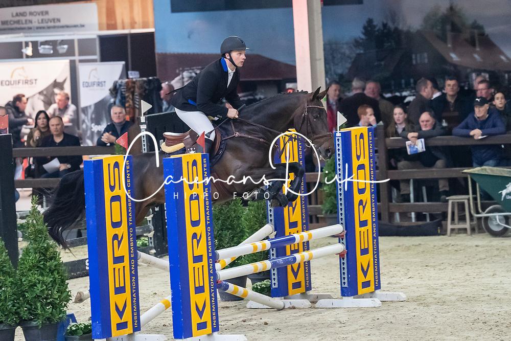 Houben Raf, BEL, Quality Gold van het Farasohof<br /> BWP Hengstenkeuring -  Lier 2020<br /> © Hippo Foto - Dirk Caremans
