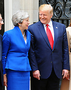 President Trump at 10 Downing Street