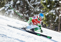 Zan Groselj (SLO) competes during 9th Men's Giant Slalom race of FIS Alpine Ski World Cup 55th Vitranc Cup 2016, on March 4, 2016 in Kranjska Gora, Slovenia. Photo by Vid Ponikvar / Sportida