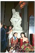 Tamara Mellon, Matthew Williamson and Minnie Driver. ( ?) Costume Institute, Metropolitan Museum. 6 December 2003. © Copyright Photograph by Dafydd Jones 66 Stockwell Park Rd. London SW9 0DA Tel 020 7733 0108 www.dafjones.com