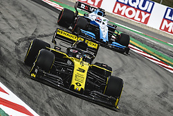 May 11, 2019 - Barcelona, Catalonia, Spain - DANIEL RICCIARDO (AUS) from team Renault  drives in his RS19 during the third practice session of the Spanish GP at Circuit de Catalunya (Credit Image: © Matthias Oesterle/ZUMA Wire)