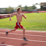 High School freshman Zane Menendez trains solo after Florida Governor Ron DeSantis pushed back all school athletics due to the Coronavirus (Covid-19) outbreak on Tuesday, April 8, 2020 in Orlando, Florida. Florida schools are set to return to the classroom at the end of April but parents will wait to see what happens with the uncertainty of the virus. (Alex Menendez via AP)