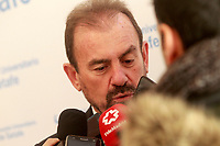 Getafe CF's President Angel Torres during the Christmas visit to the Children's Hospital of the city. December 12,2017. (ALTERPHOTOS/Acero)