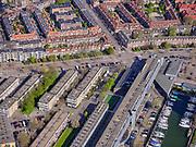 Nederland, Noord-Holland, Amsterdam, 07-05-2021; Amsterdam-Noord. Meeuwenlaan, zicht op Vogelbuurt.<br /> <br /> luchtfoto (toeslag op standaard tarieven);<br /> aerial photo (additional fee required)<br /> copyright © 2021 foto/photo Siebe Swart.