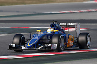 ERICSSON marcus (swe) sauber f1 c34 action during Formula 1 winter tests 2015 at Barcelona, Spain from February 19th to 22nd. Photo DPPI / Jean Michel Le Meur.