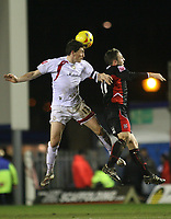 Photo: Marc Atkins.<br /> Milton Keynes Dons v Lincoln City. Coca Cola League 2. 08/01/2007.