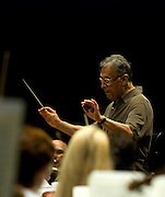 Rehearsal of the Israeli Philharmonic Orchestra with Zubin Mehta conductor at the Mann Auditorium Tel Aviv, Israel