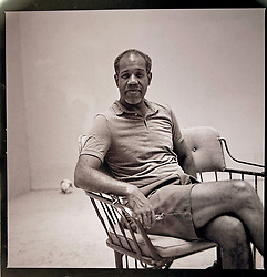 Good friend, pulitzer prize poet, Gregory Pardlo on his squash court at his home in Merchantville, NJ.