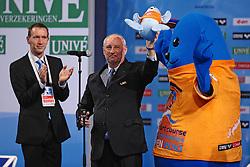 25.11.2010, Pieter van den Hoogenband Zwemstadion, Eindhoven, NED, Kurzbahn Schwimm EM, im Bild ..LEN President Nory KRUCHTEN. // Eindhoven 25/11/2010 .European Short Course Swimming Championships, EXPA/ InsideFoto/ Staccioli+++++ ATTENTION - FOR AUSTRIA/AUT, SLOVENIA/SLO, SERBIA/SRB an CROATIA/CRO CLIENT ONLY +++++