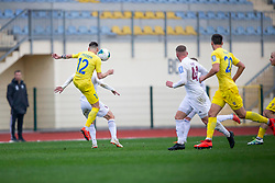 Gregor Sikosek of Domzale during football match between NK Domzale and NK Triglav in Round #18 of Prva liga Telekom Slovenije 2019/20, on November 23, 2019 in Sports park Domzale, Slovenia. Photo by Sinisa Kanizaj / Sportida