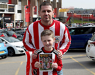 Sheffield United fans for fans gallery during the English League One match at Bramall Lane Stadium, Sheffield. Picture date: April 30th, 2017. Pic credit should read: Jamie Tyerman/Sportimage