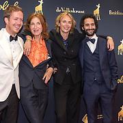 NLD/Utrecht/20191004 - Uitreiking Gouden Kalveren 2019, Robert de Hoog, Elsie de Brauw, .........., Achmed Akkabi