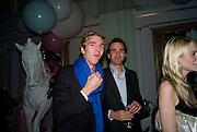 JAMES COOK; FRITZ VON WESTENHOLZ, Vogue Fantastic  Fashion Fantasy Party in association with  Van Cleef and Arpels and to celebrate Vogue's secret address book. 1 Marylebone Rd. London. 3 November 2008 *** Local Caption *** -DO NOT ARCHIVE -Copyright Photograph by Dafydd Jones. 248 Clapham Rd. London SW9 0PZ. Tel 0207 820 0771. www.dafjones.com