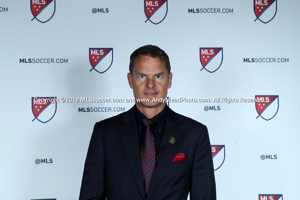 CHICAGO, IL - JANUARY 11: Atlanta United FC head coach Frank de Boer. The MLS SuperDraft 2019 presented by adidas was held on January 11, 2019 at McCormick Place in Chicago, IL.