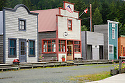 The movie set of Dawson City for the making of the movie White Fang, Haines, Alaska.