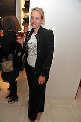 BAY GARNETT at a reception hosted by Vogue and Burberry to celebrate the launch of Fashions Night Out - held at Burberry, 21-23 Bond Street, London on 10th September 2009.
