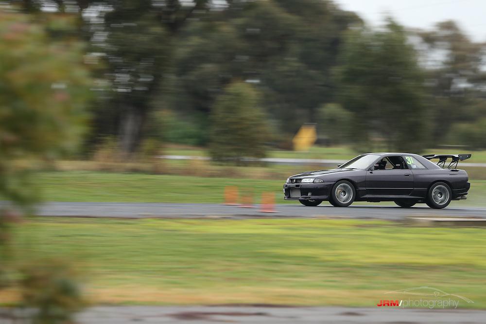 Round 2 of the Skylines Australia Victoria Motorkhana Championship held at the DECA Skid pan at Shepparton.
