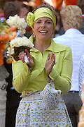 Koninginnedag 2007 in 's Hertogenbosch / Queensday 2007 in the city of 's Hertogenbosch <br /> <br /> Op de foto: Prinses Laurentien