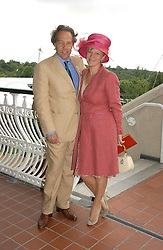 The EARL & COUNTESS OF MARCH & KINRARA at the 3rd day of the Glorious Goodrwood Racing festival 2006 - Ladies Day, at Goodwood Race course, West Sussex on 3rd August 2006.<br /><br />NON EXCLUSIVE - WORLD RIGHTS