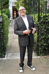 BRUCE OLDFIELD attending Annabel Goldsmith's Summer party held at her home in Ham, Surrey on 10th July 2014.