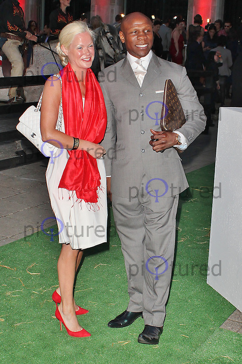 LONDON - August 21: Chris Eubank at the Channel 5 Dallas Launch Party (Photo by Brett D. Cove)