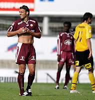 FOTBALL Adeccoligaen, 26. august 2006, MOSS FK MFK - SOGNDAL, Moss fotballklubb 100 Âr, Mell¯s stadion, NAVN, FOTO KURT PEDERSEN