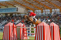 Lansink Jos (BEL) - Spender S<br /> Winner of the Grand Prix Longines de la Ville de La Baule<br /> CSIO La Baule 2009<br /> Photo © Dirk Caremans