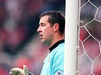 Nigel Martyn (Leeds)  Middlesbrough v Leeds, 26/8/2000. Credit: Colorsport.