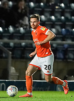 Blackpool's Oliver Turton<br /> <br /> Photographer Lee Parker/CameraSport<br /> <br /> The EFL Sky Bet League One - Wycombe Wanderers v Blackpool - Tuesday 28th January 2020 - Adams Park - Wycombe<br /> <br /> World Copyright © 2020 CameraSport. All rights reserved. 43 Linden Ave. Countesthorpe. Leicester. England. LE8 5PG - Tel: +44 (0) 116 277 4147 - admin@camerasport.com - www.camerasport.com