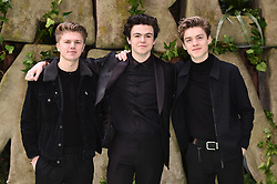New Hope Club attending the Early Man World Premiere held at the BFI Imax, London. Picture date: Sunday January 14th, 2018. Photo credit should read: Matt Crossick/ EMPICS Entertainment.