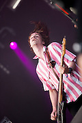 Palma Violets performing at the 19th Festival International of Benicassim, Spain