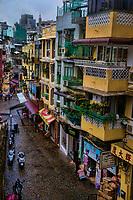 A Narrow Alley in Macau