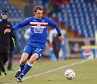 Fotball<br /> Serie A Italia<br /> Foto: imago/Digitalsport<br /> NORWAY ONLY<br /> <br /> 21.12.2005  <br /> <br /> Christiano Zenoni (Sampdoria Genua) am Ball