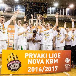 20170524: SLO, Basketball - Liga Nova KBM 2016/17, Finale, KK Union Olimpija vs KK Rogaska