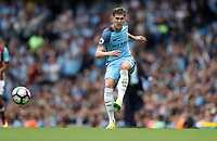 Football - John Stones of Manchester City during the match at the Etihad Stadium between Manchester City and West Ham United. <br /> <br /> 2016 / 2017 Premier League - Manchester City vs. West Ham United<br /> <br /> -- at The Etihad Stadium.<br /> <br /> COLORSPORT/LYNNE CAMERON